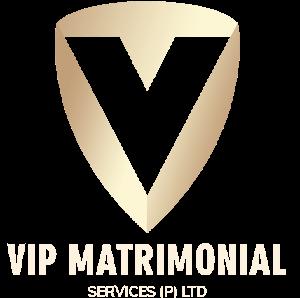vip matrimonial services logo
